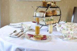 Afternoon tea – Chiseldon House Hotel, Swindon, Wilts SN4 0NE