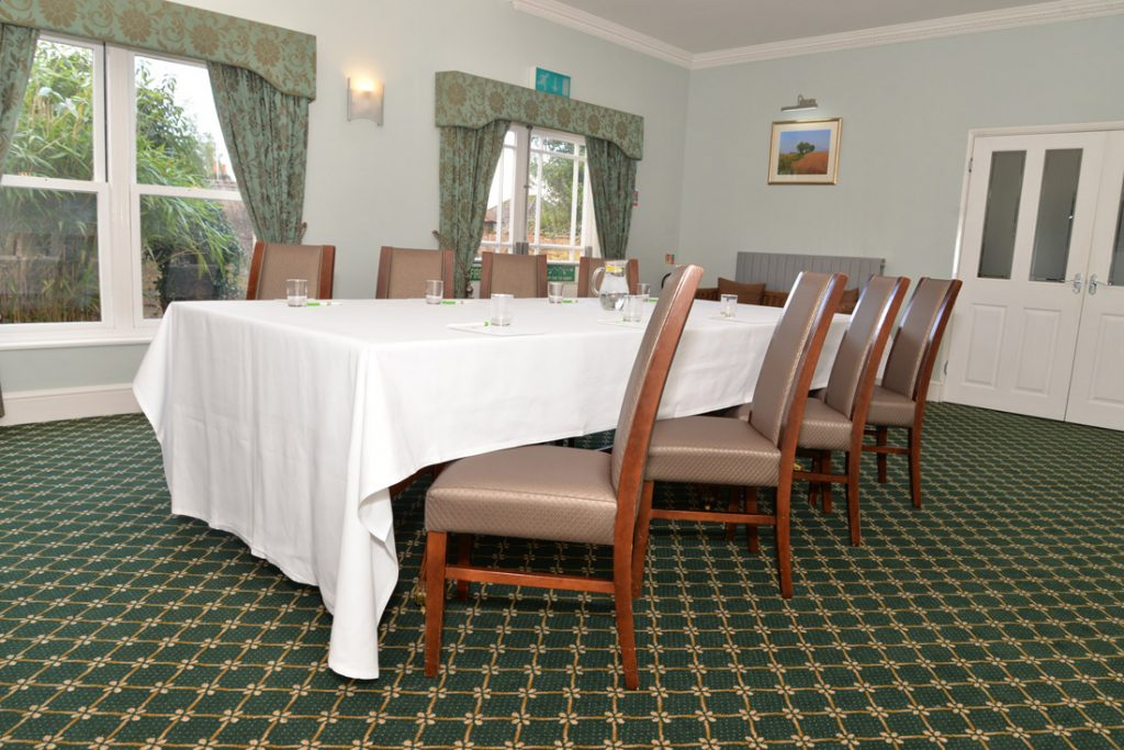 Barbury Room set for Business meetings in Swindon