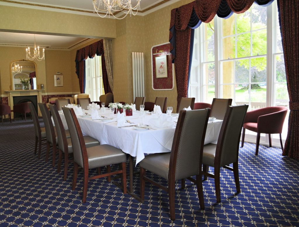 Private Dining, Chiseldon House Hotel and Restaurant, Swindon, Wiltshire SN4 0NE