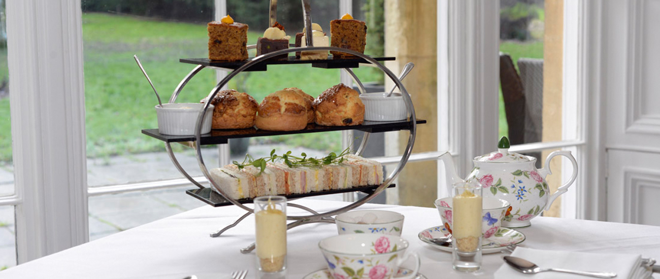 Afternoon tea in Swindon - Chiseldon House Hotel & Restaurant