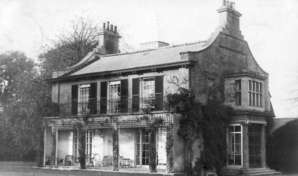 Credit for this photo: Chiseldon House, Wiltshire in about 1910, source Swindon Library |Author unknown