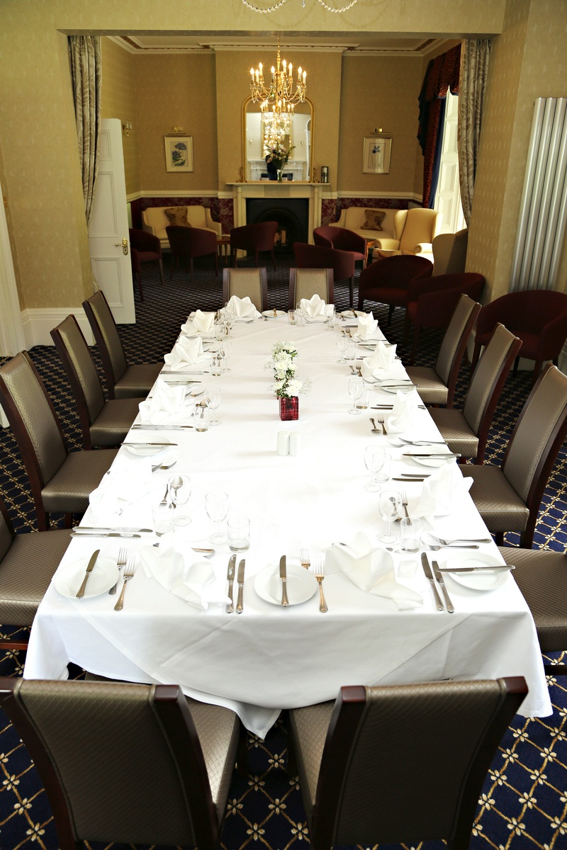 Borelli Room Private Dining, Chiseldon House Hotel